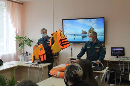 Открытый урок по безопасности жизнедеятельности в Чувашской Республике