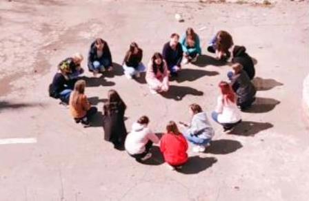 Студентки 22 группы присоединились к акции «Большие сердца»