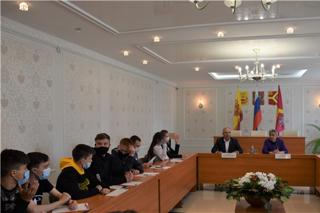 Состоялась встреча с выпускниками школ Красноармейского района