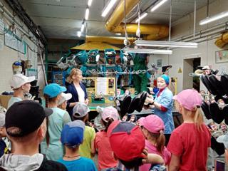 """17 день пришкольного лагеря """"Солнышко"""" был посвящен выбору будущей профессии."""