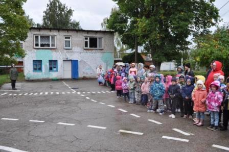 В детском саду прошла тренировка по учебной эвакуации