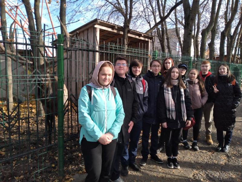 В Зооуголке парка им. А.Г. Николаева
