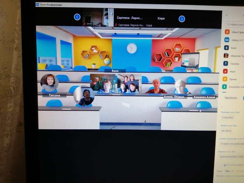 Заседание РМО учителей начальных классов